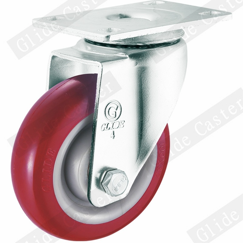 Medium Duty PU Swivel Caster (G3201)