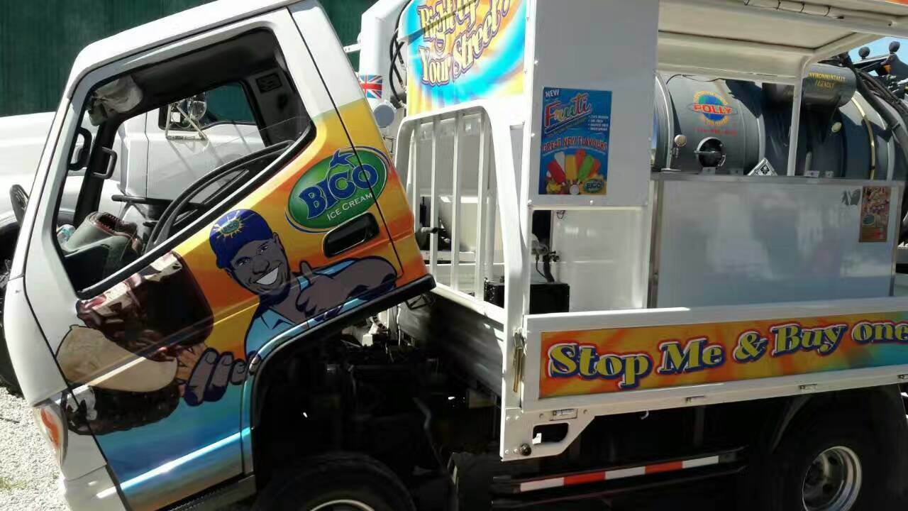 Right Hand Drive Flat Light Truck