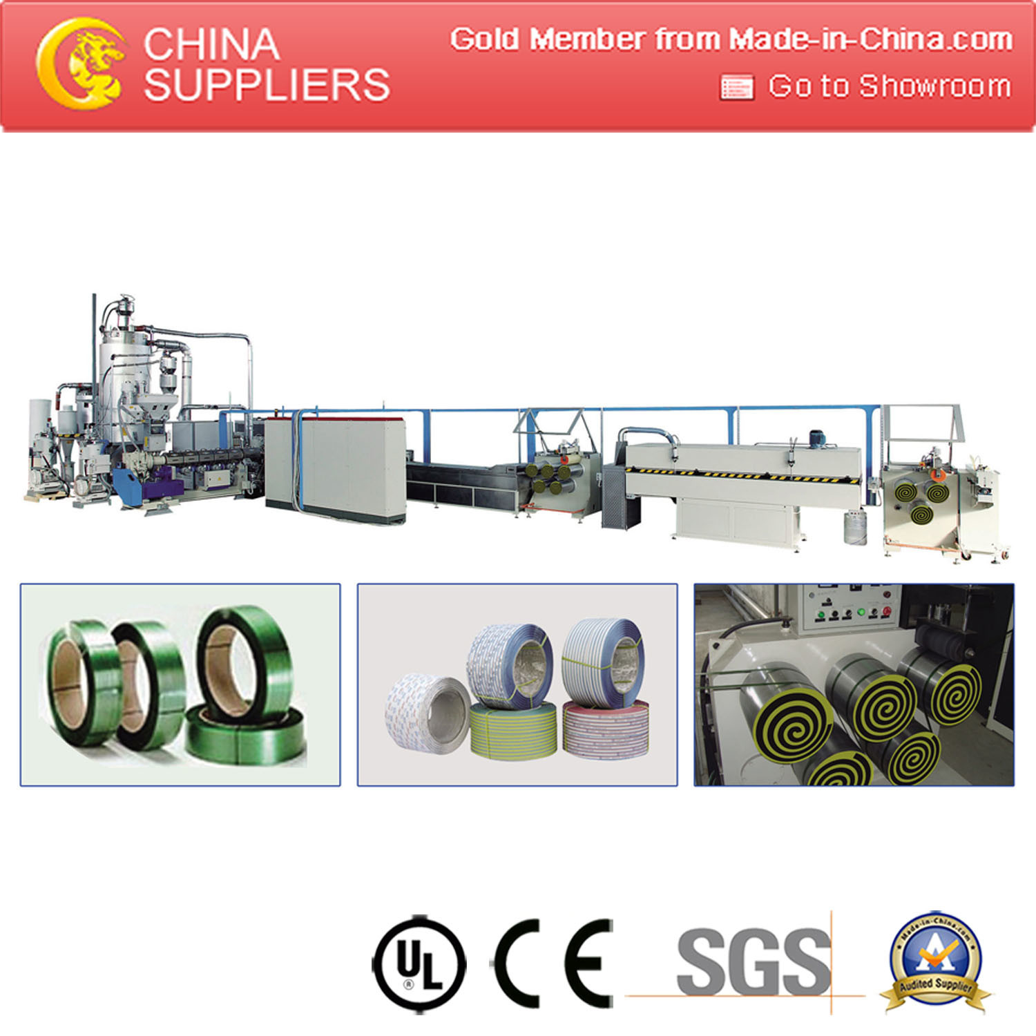 Pet Strap Machine Pet Strap Extruder Machine Strap Making Machine