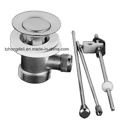 Pumbling Fitting Slotted Rod Operated Popup Basin Waste