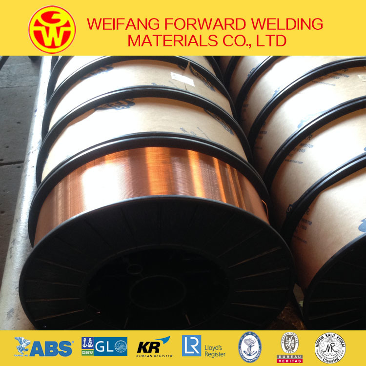 1.2mm 15kg/Spool Golden Bridge OEM CO2 Welding Wire Er70s-6 Welding Wire Sg2 with Copper Coated
