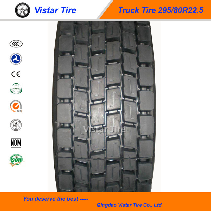 295/80r22.5 Truck Tyre for off Road Use