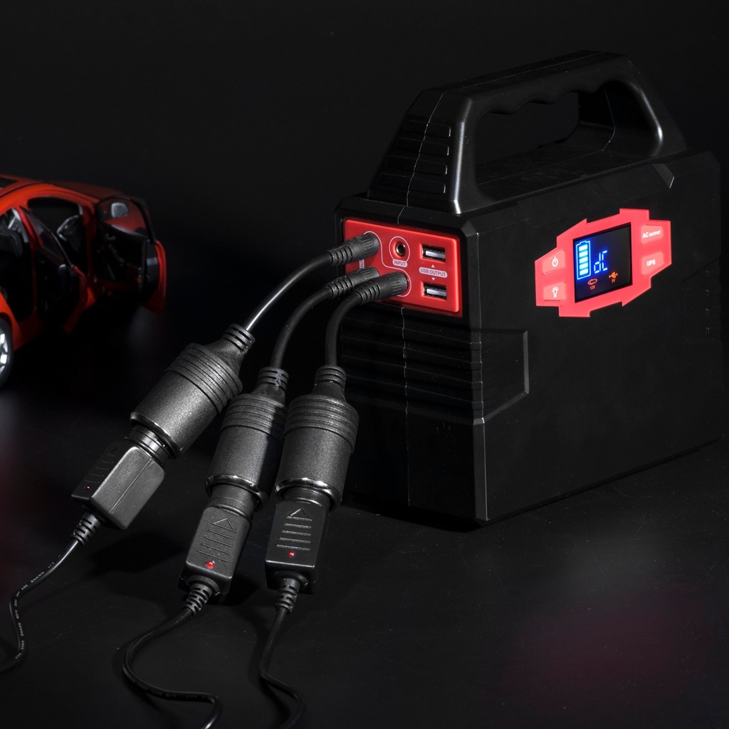 180W Solar Power Kit Lithium Battery Generator with Solar Panel