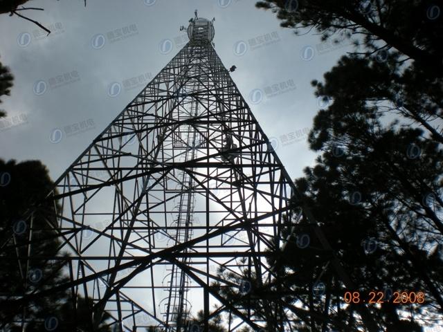 High Quality Communication Three Legs Tube Lattice Tower
