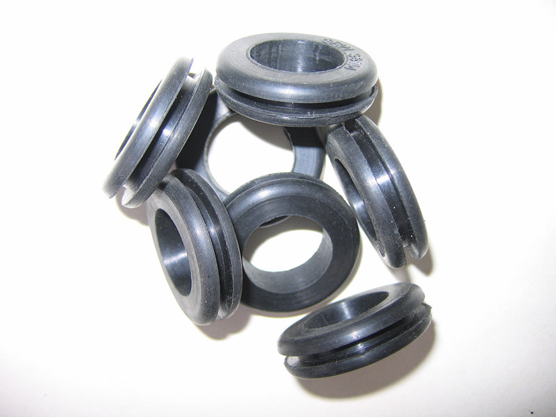 Solid Rubber Grommet for Panel Hole