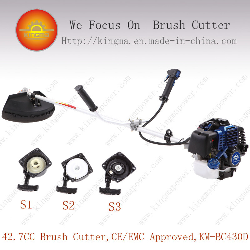 42.7cc Side-Carried Bc430 Grass Cutter with 1e40f-5 Engine