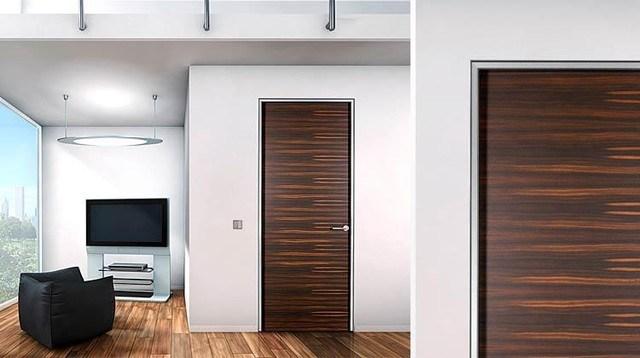 Wooden Modern Interior Door