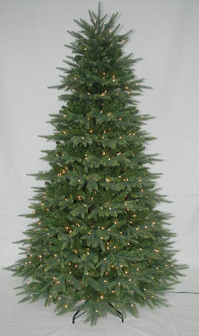 Realist Artificial Christmas Tree with String light Multi Color LED Decoration (AT1079)
