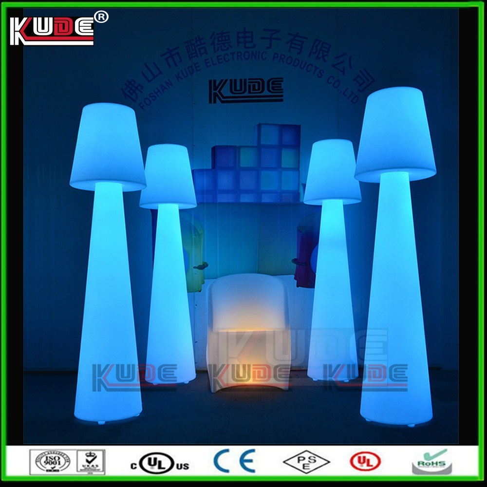 Outdoor Party Rechargeable Battery LED Floor Lamp for Rental