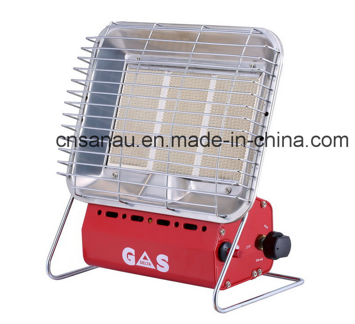 Mobile Gas Heater with 3plate Hight Efficiency Ceramic Burner Sn13-Bf