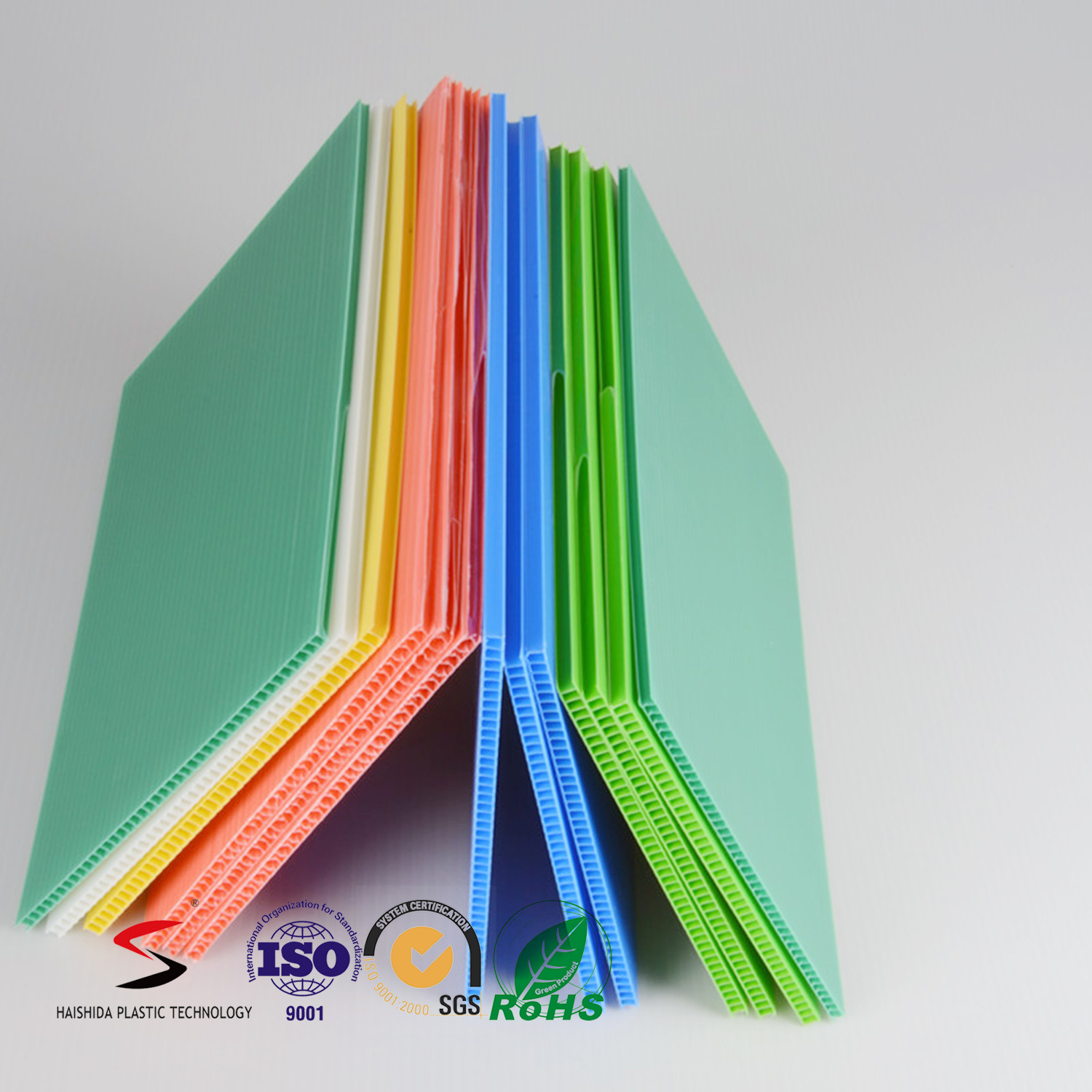 Hollow PP Sheet Plastic Corrugated Board