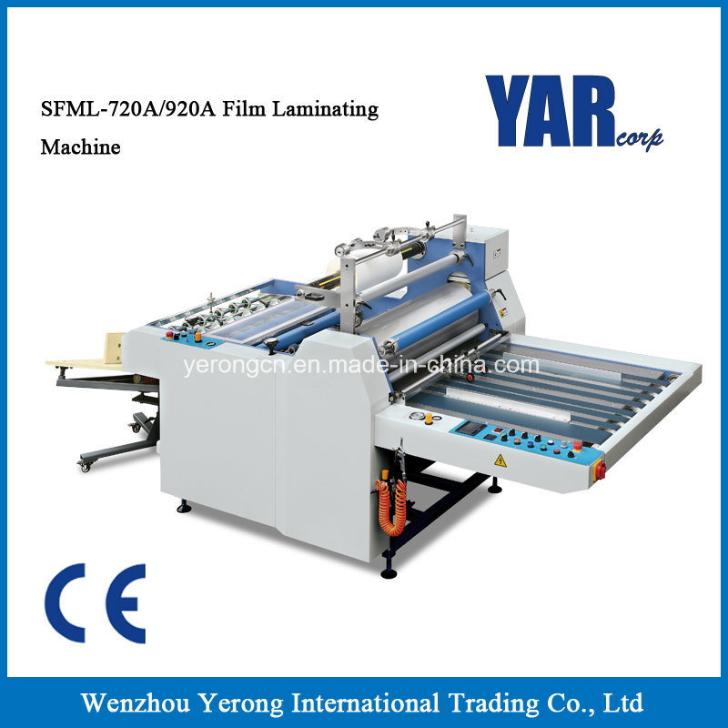 Sfml-720A/920A Semi-Auto Film Laminating Machine for Sale
