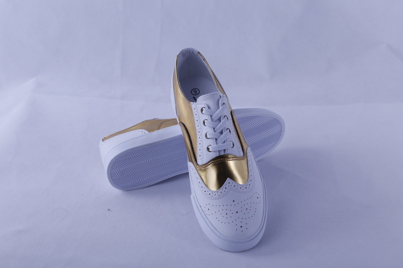 Vulcanized Shoes Rubber Outsole PU Upper Bz1626