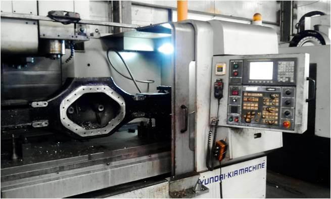CNC Vertical Lathe Machining