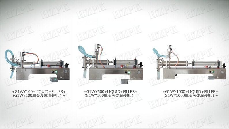 Single Head Liquid Filling Machine (G1WY)