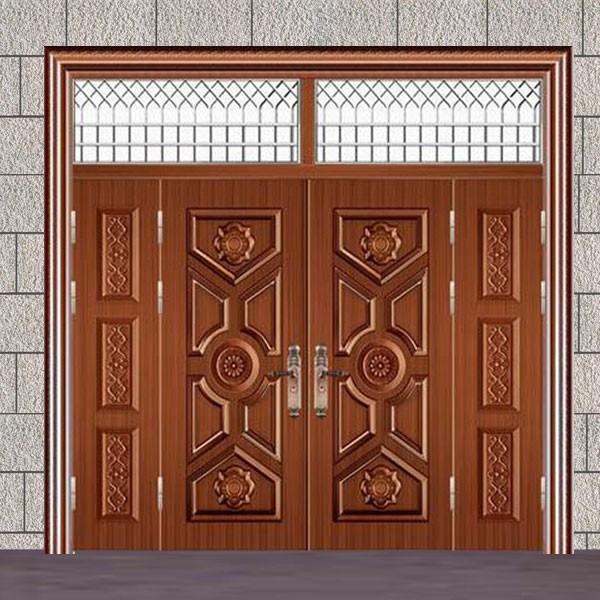 Steel Exterior Villa Door