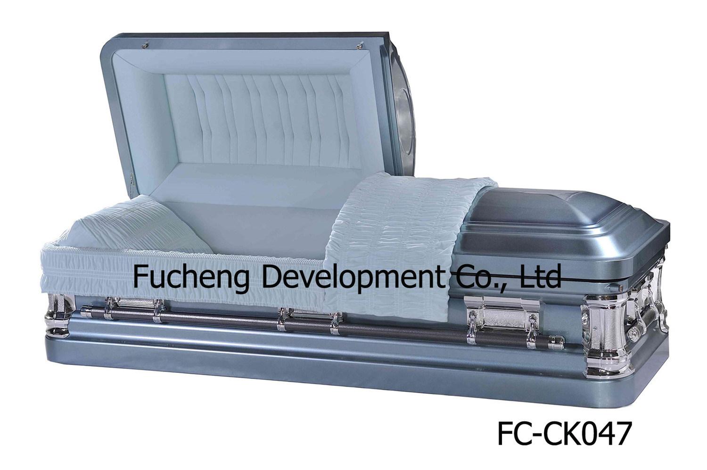 18ga Metal Coffin & Casket for Funeral (FC-CK047)