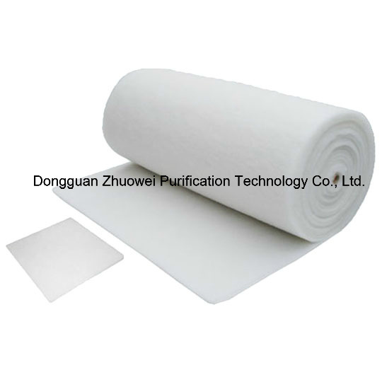 Synthetic Fibre Filter Rolls Filter Media for Air Conditioning Pre-Filtration