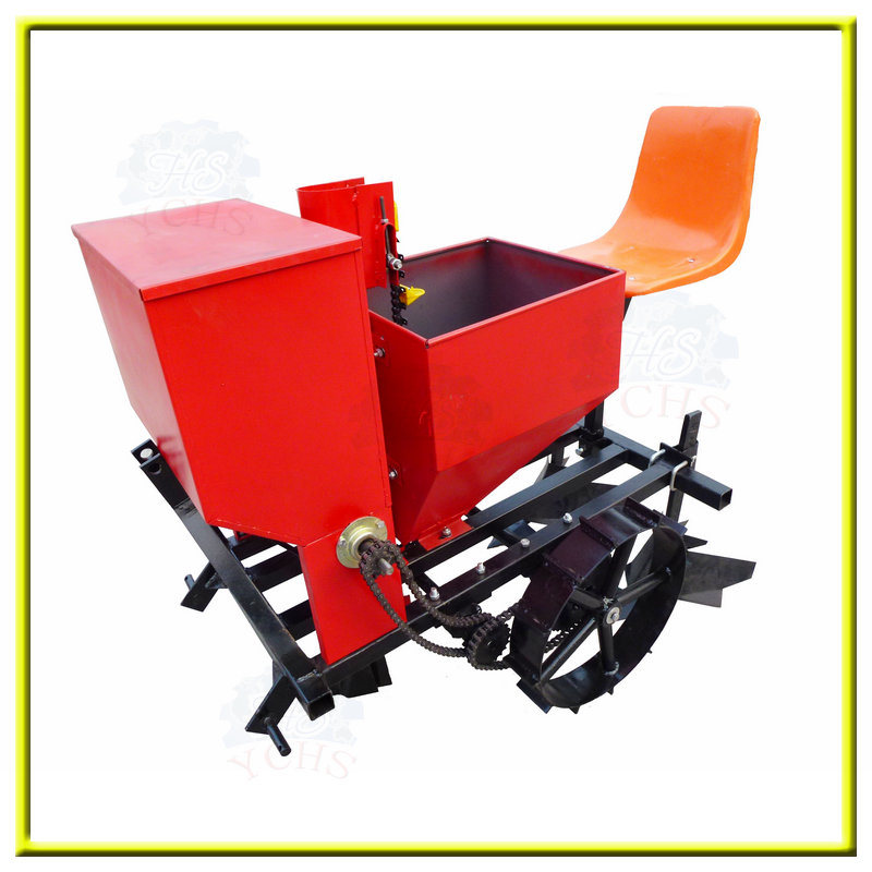 Agricultural Machinery 1 Row Potato Seeder with Fertilizing
