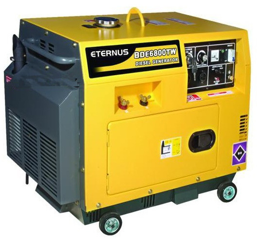 Silent 5kw Diesel Electric Generator with CE (BDL6000S)