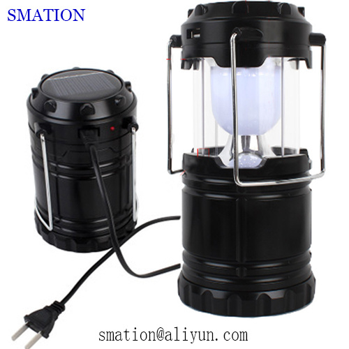 Flexible Camper Tent Battery Operated Backpacking Brightest Solar Camping Lantern
