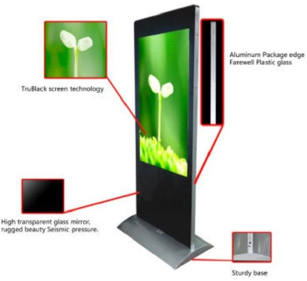 55inch IP65 Digital LCD Kiosk