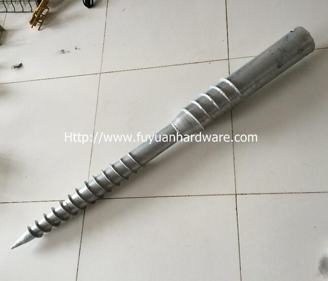 Hot Dipped Solar Mounting Helical Screw Piles