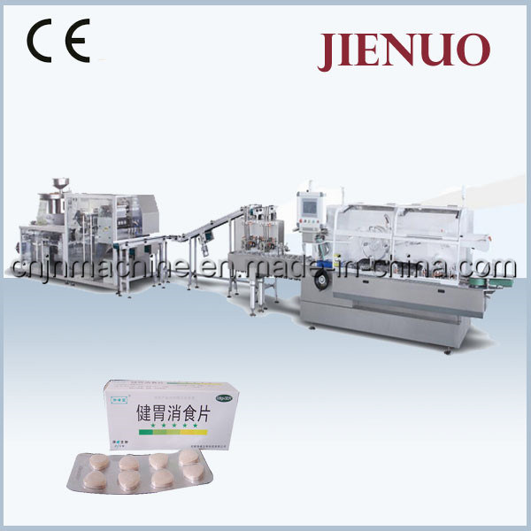 Jienuo Automatic High Speed Blister Cartoning Machine Line (JNZ-260LP)