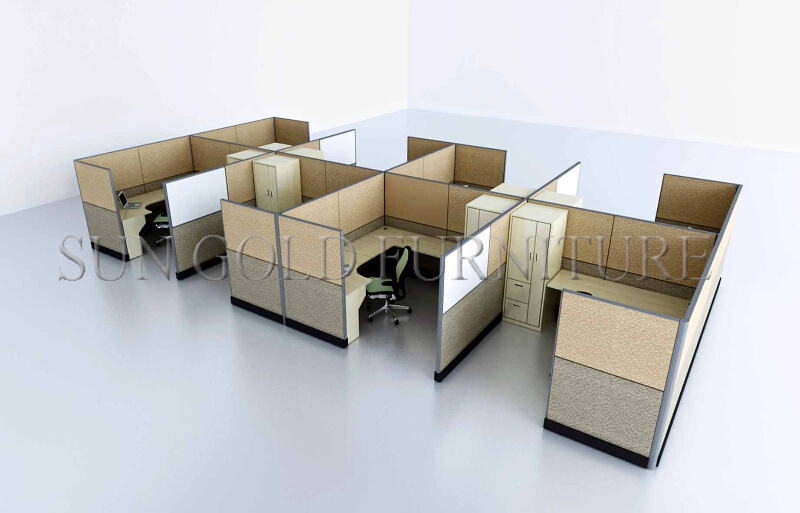 china new design workstation cubicle office table with