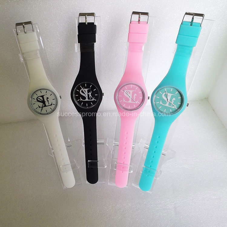 Candy Color Fashion Ladies Fancy Silicone Watches