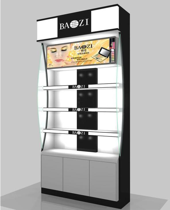 Cosmetic Display Shelf for Beauty Shop, Beauty Shop Design