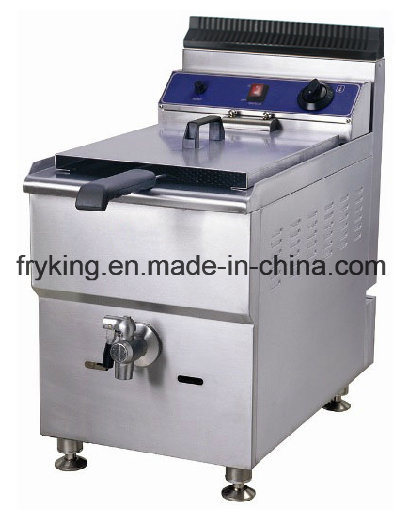 Counter Top Gas Deep Fryer with Stainless Steel Body