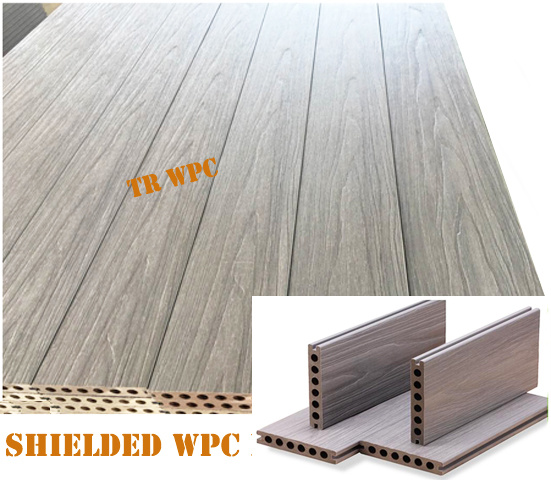 New Wood Plastic Composite Decking Flooring