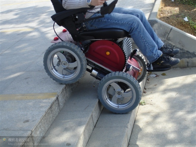 China 4x4 Outdoor Electric Wheelchair China Motorized