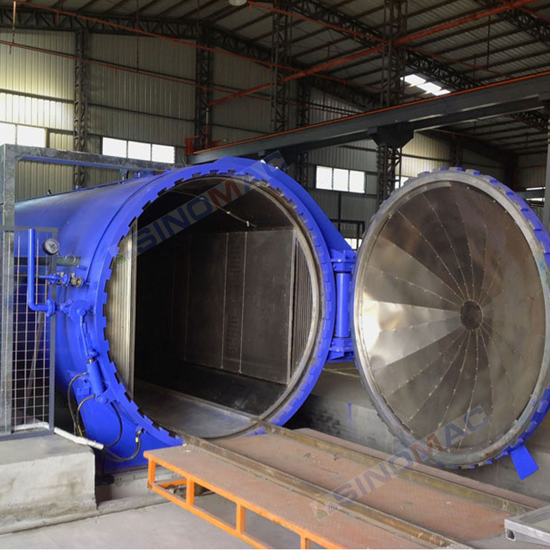 CE Approved 2850X6000mm Industrial Special Laminated Glass Autoclave (SN-BGF2860)
