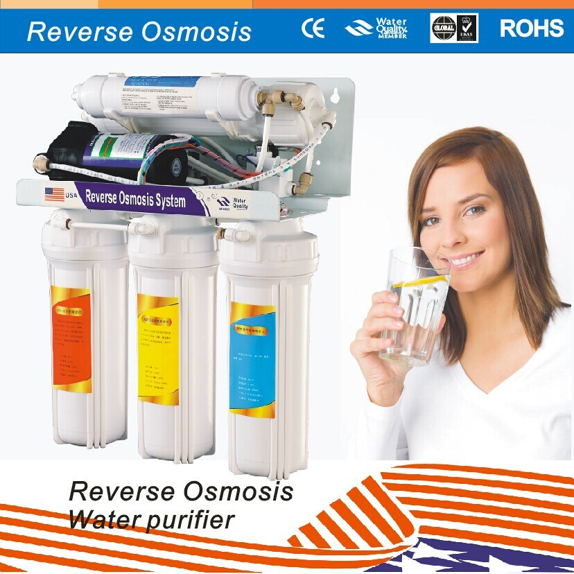 RO Water Filter System with UV