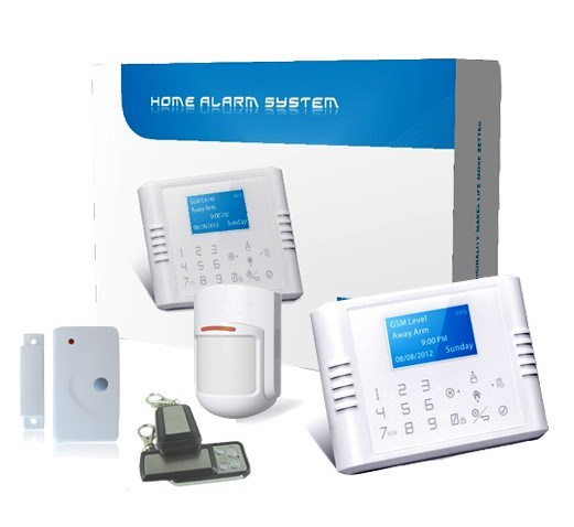 Wireless monitored alarm systems