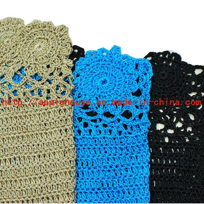 Ladies Crochet Swimwear in 100% Rayon by Hand Made Beachwear (V-9114+ V-9003)