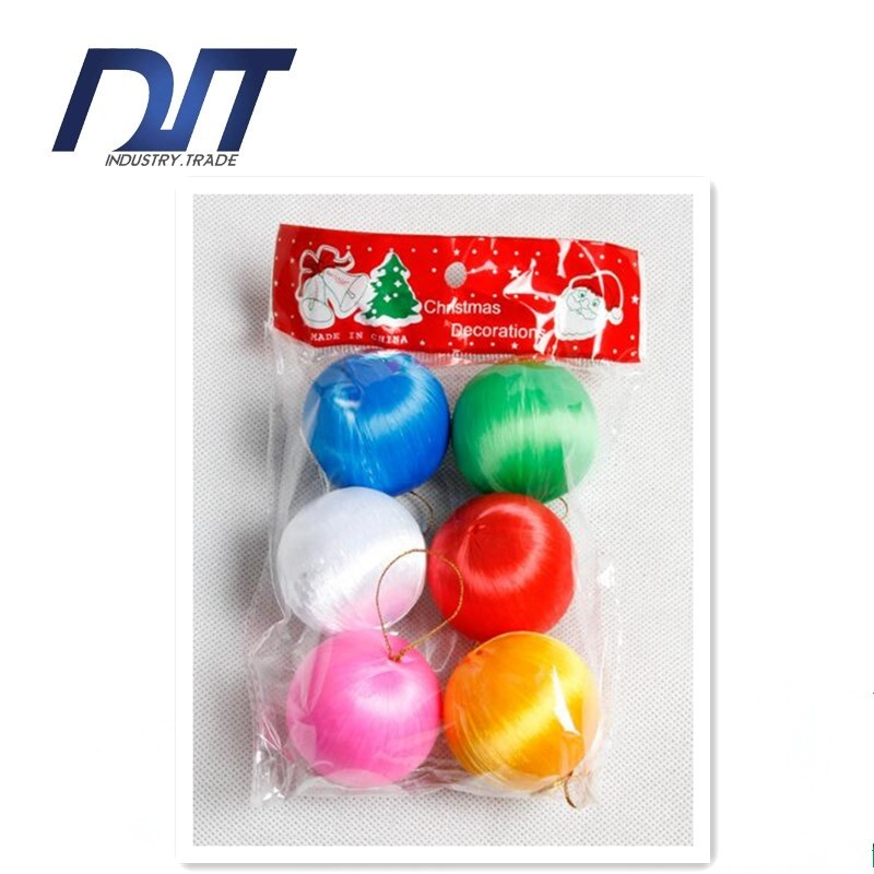 Christmas Balls Tree Ornaments Hanging Ornaments Wrapped Ball Christmas Scene Layout