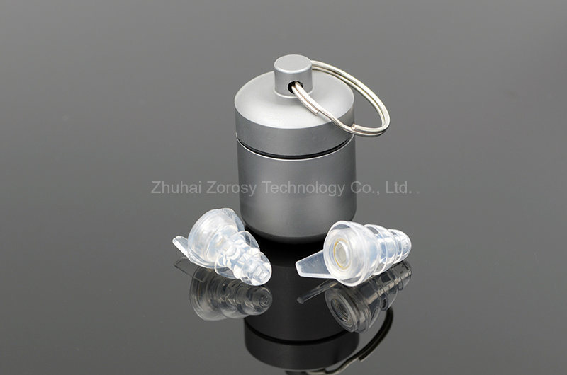 OEM Organic Silicone Earplugs with Filter