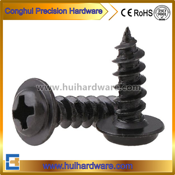 Carbon Steel Phillips Pan Washer Head Self Tapping Screws