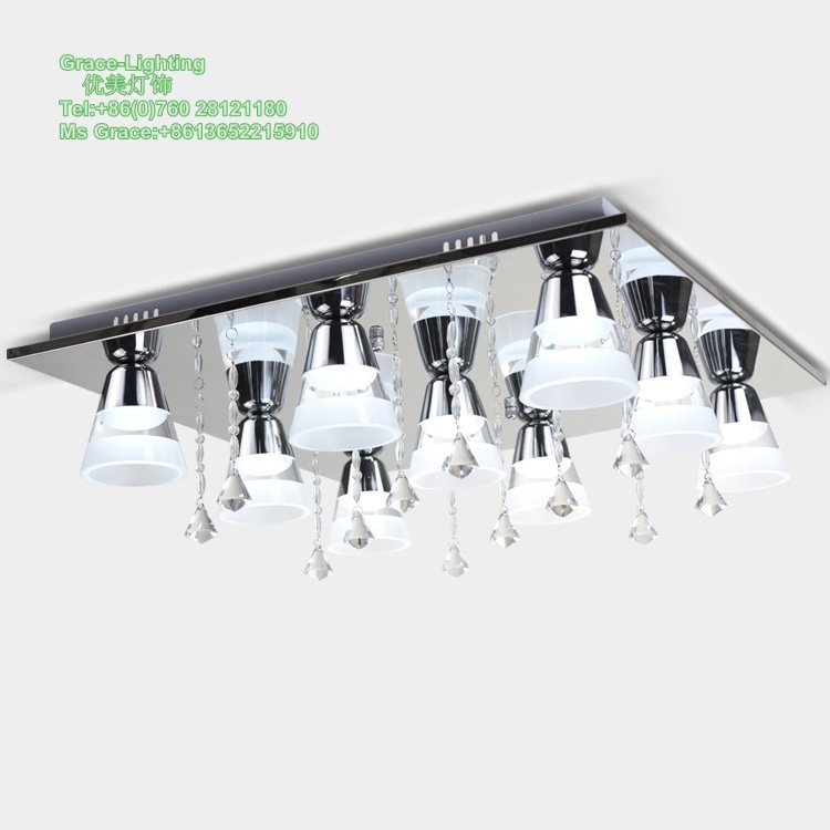 LED Crystal Ceiling Lamp (GX-2068-9)