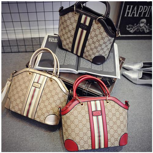 PU Shoulder Bag Woman Fashion Handbag