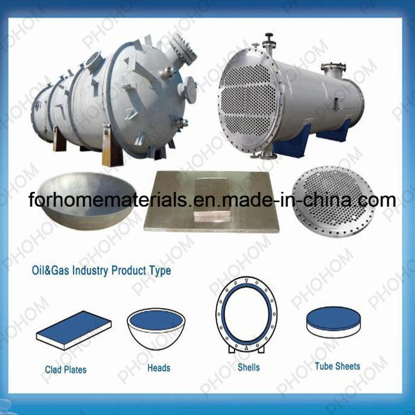 Bimetallic Explosion Weld Clad Tubesheet for Heat Exchanger