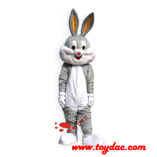 Plush Rabbit Mascot Costume
