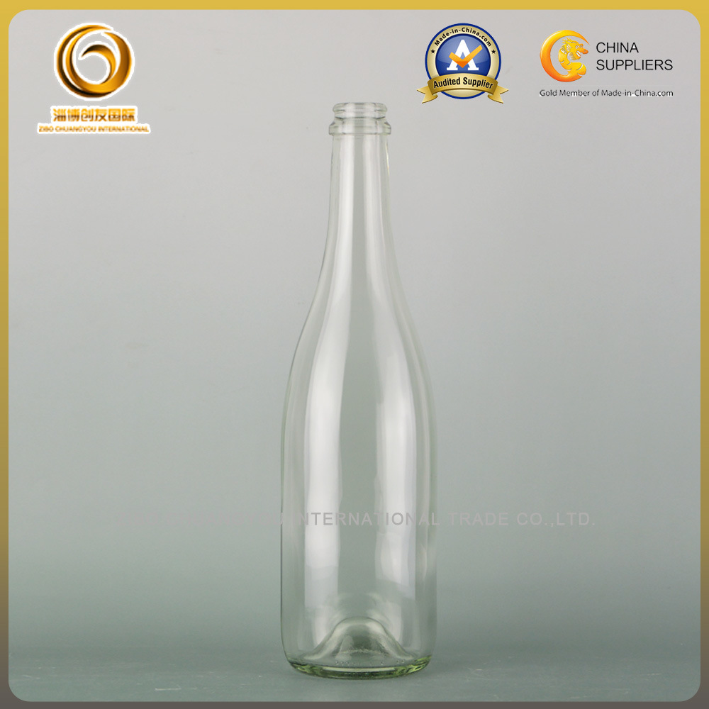 Sparkling Wine 750ml Glass Champagne Bottles (041)
