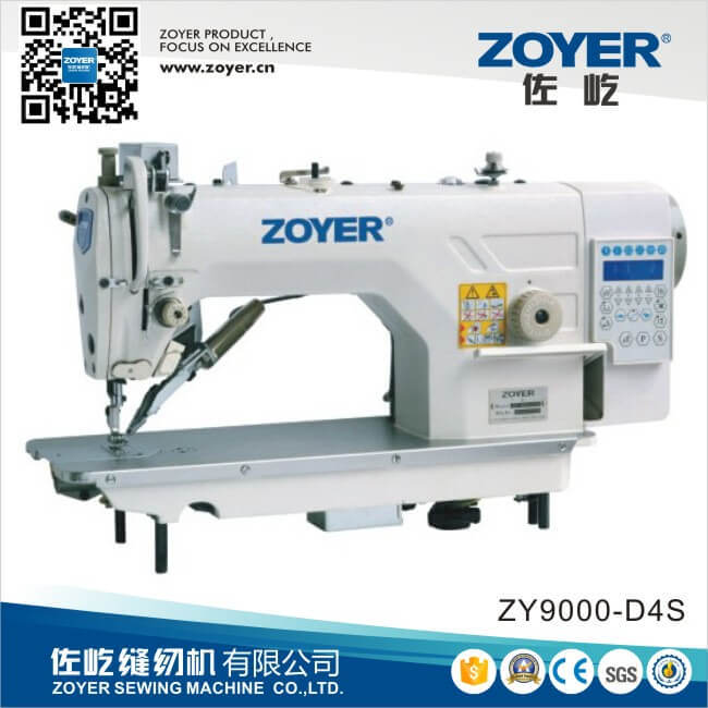 Computer Lockstitch Industrial Sewing Machine with Auto-Trimmer Zoyer (ZY9000D-D4)