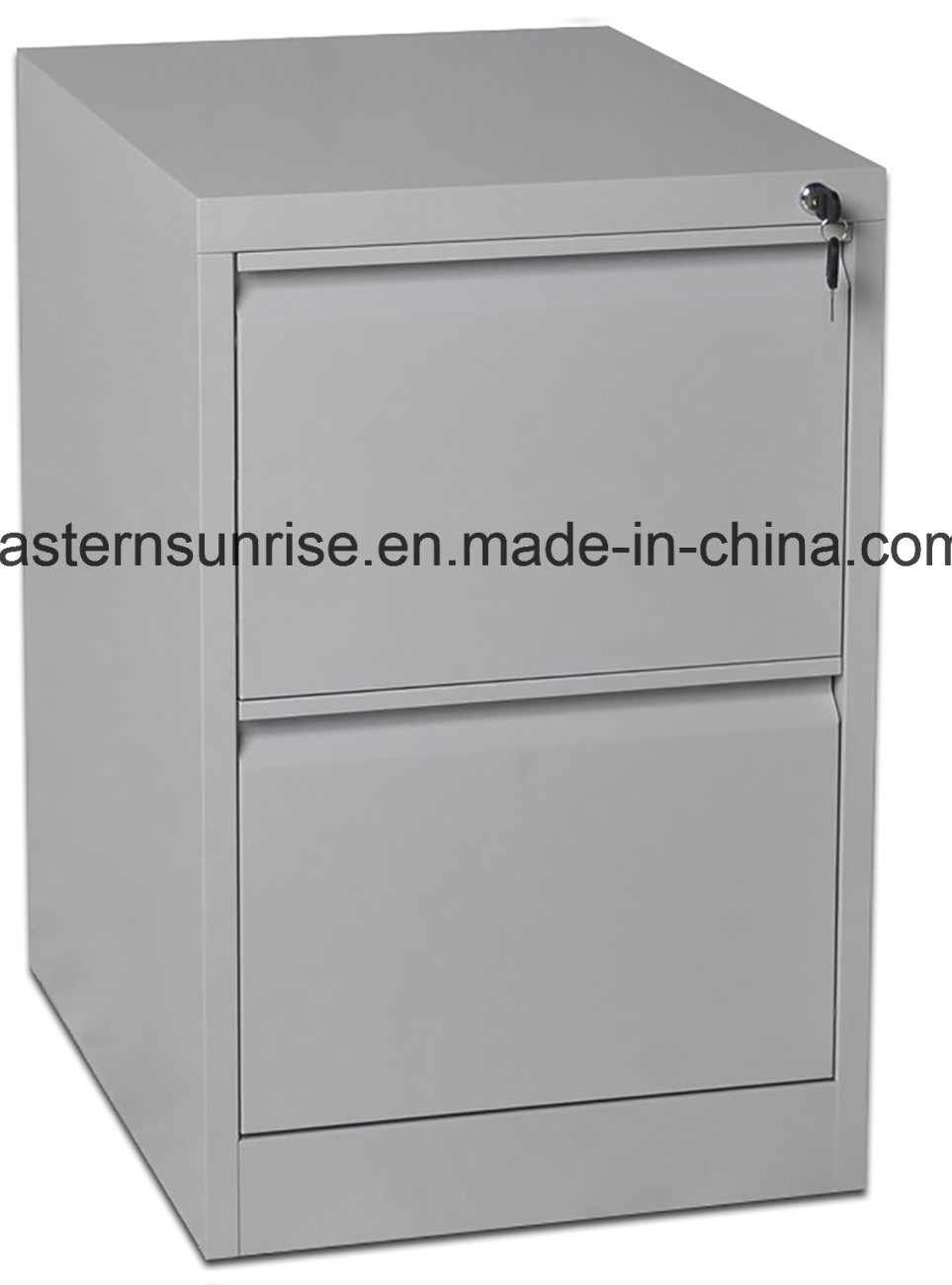 Two Drawer Steel Metal Vertical Filing Storage Cabinet