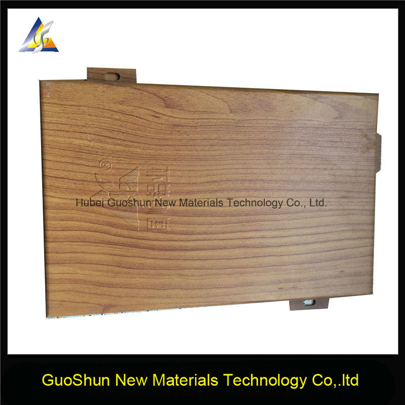 Decorative Wood Grain Building Materials Aluminum Panels