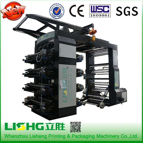 6 Colors High Speed Human Imagine Flexographic Printing Machine